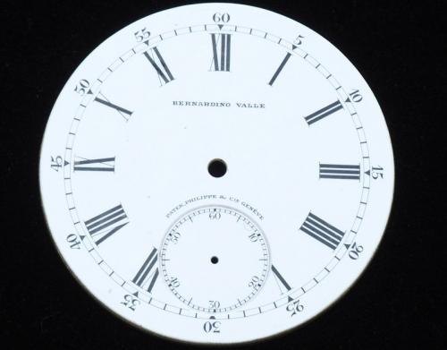 773be1a4189 Lote 4593 - MOSTRADOR PATEK PHILIPPE – Mostrador para Relógio de Bolso de 22  linhas da Patek Philippe. Estado irrepreensível. Preço na marca de €  1.400
