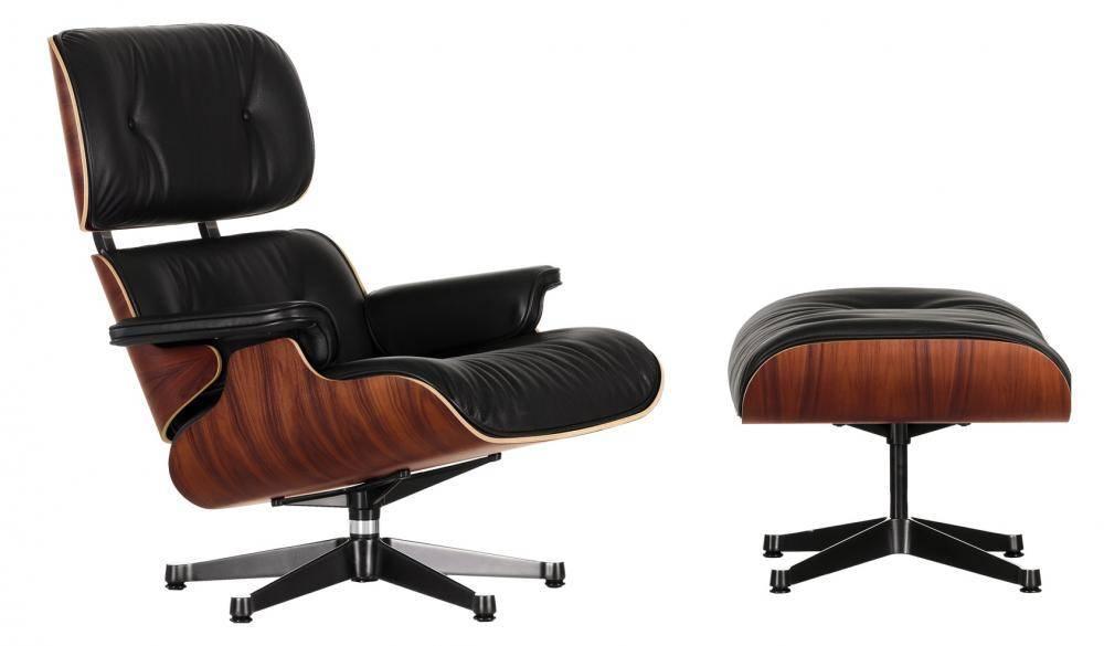Lote 3511 lounge chair ottoman cadeira de design - Poltrona design low cost ...