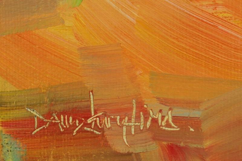 Lote 2391 david levy lima original pintura a leo sobre tela motivo rebusco a apanha - Pintura instinto ...