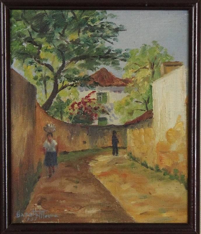 Lote 2440 barata moura 1910 2009 original pintura - Pintura barata online ...