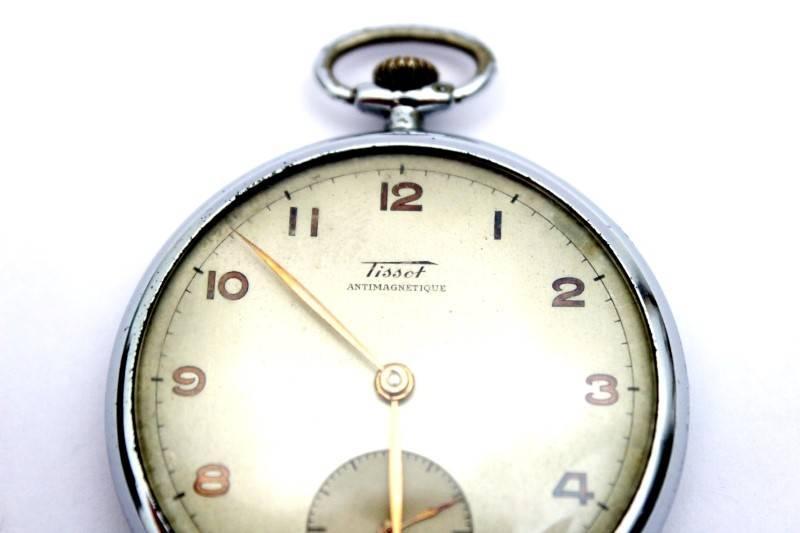 d905c81b743 Lote 12 - Relógio de bolso TISSOT