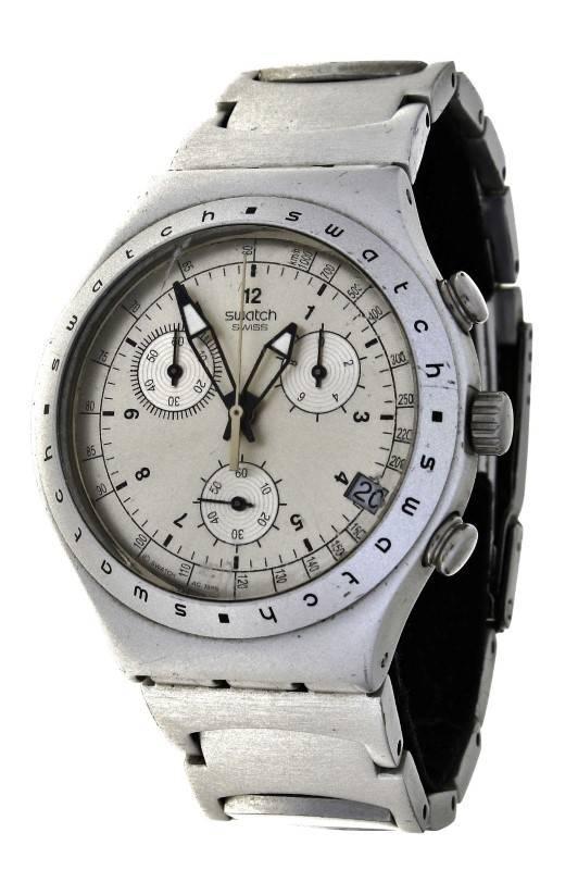 8143a42fd4c Lote 33 - Relógio SWACTH