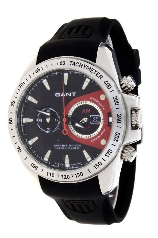 d6979be8036 Lote 7 - Relógio de pulso de homem GANT Cronógrafo XL. Modelo  1036. Caixa  em aço com 47 mm e bracelete em Cautchu. Notas  PVP(Novo)  220