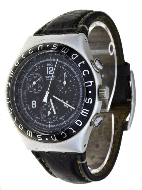 6dae1d512a9 Lote 49 - Relógio de pulso marca Swatch modelo HIGH TAIL YCS1000 ...