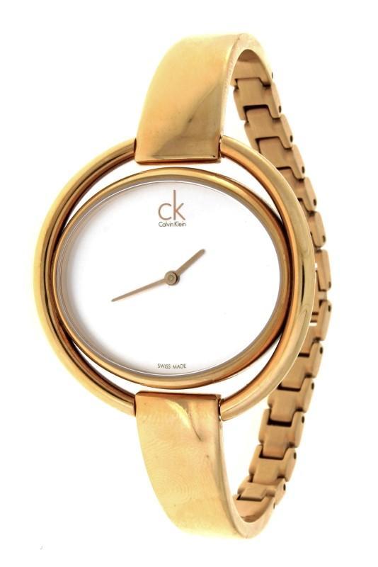 15e689fb1ef Lote 4411 - Relógio de pulso de senhora Calvin Klein
