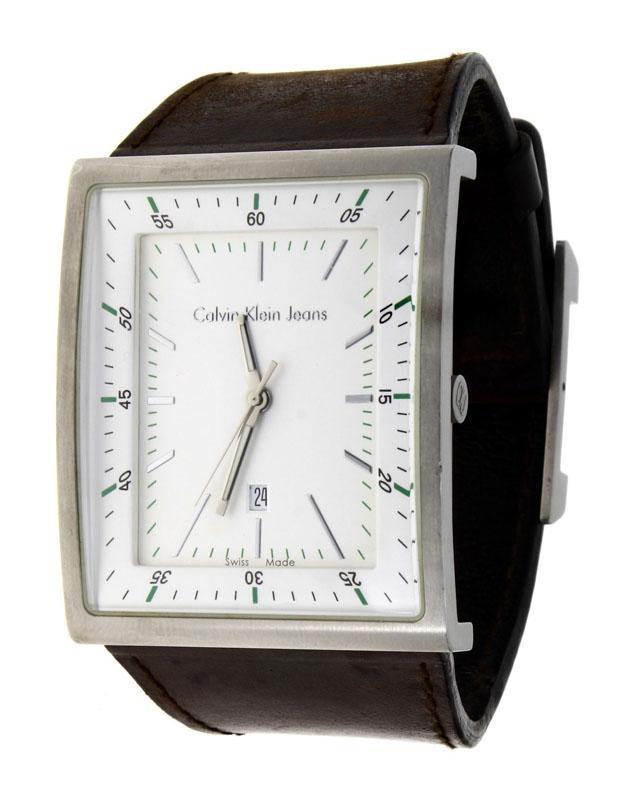 7b884e6315c Lote 3797 - Relógio de pulso Calvin Klein Jeans