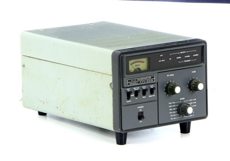 Lote 5080 - Aparelho, Yaesu FTV-901R, O FTV-901R é um
