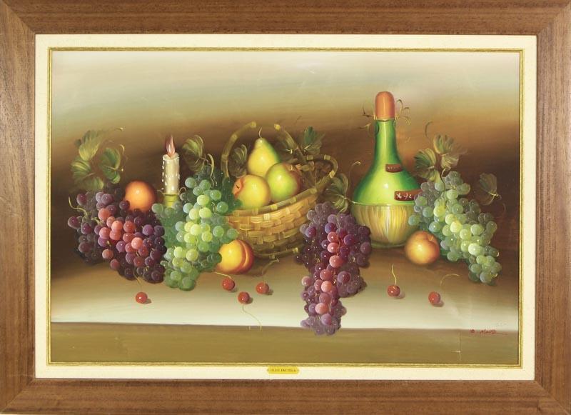78bbe62ef Lote 142 - Pintura a óleo sobre tela