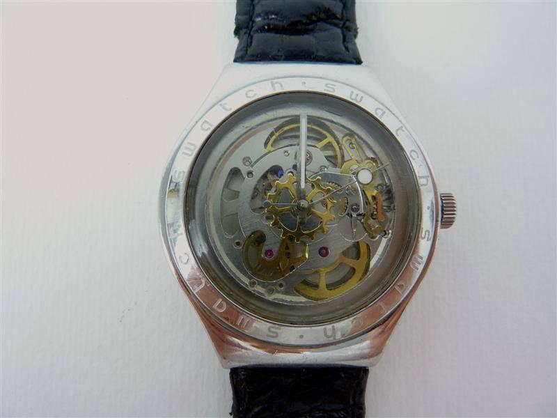 9c5aab24490 Lote 1640160 - Relógio Swatch Irony Automatic