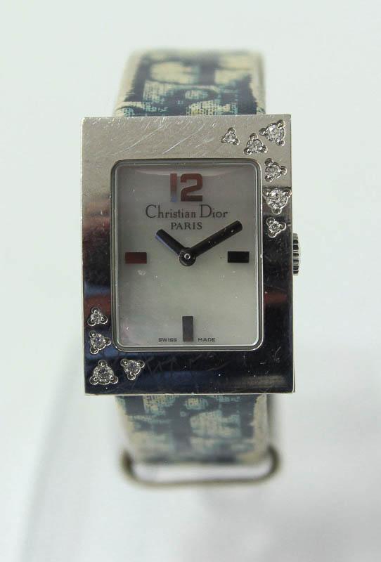 9bd47c4746d Lote 4573 - RELÓGIO CHRISTIAN DIOR - Relógio de pulso de senhora Christian  Dior