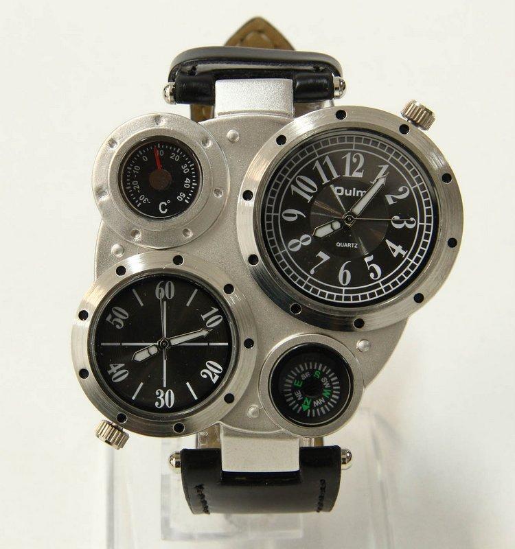 6e6a9a66457 Lote 4308 - RELÓGIO OULM - Relógio de pulso de homem da marca Oulm ...