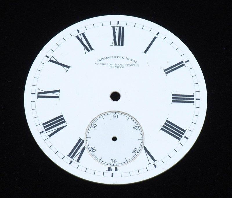 75290974dd8 Lote 4587 - MOSTRADOR VACHERON CONSTANTIN – Mostrador para Relógio de Bolso  de 22 linhas da famosa marca Vacheron Constantin. Estado irrepreensível.