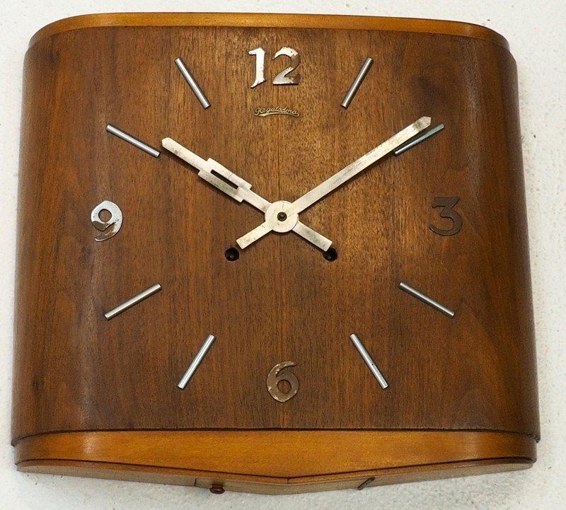 c7fc77a26 Lote 4417 - RELÓGIO REGULADORA ART-DECO - Relógio de parede da marca ...