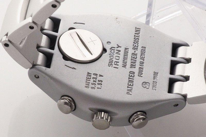208d0c393bd Lote 5 - SWATCH IRONY - Relógio de pulso da marca SWATCH Irony ...