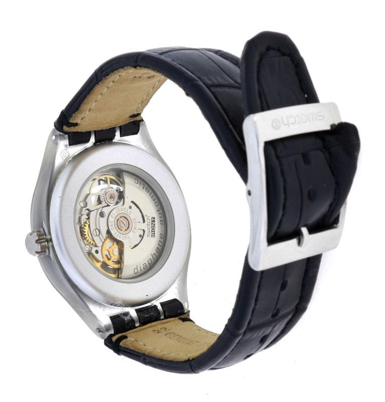 70c8c49f178 Lote 11 - SWATCH IRONY OSCILLATION DIAPHANE AUTOMATIC