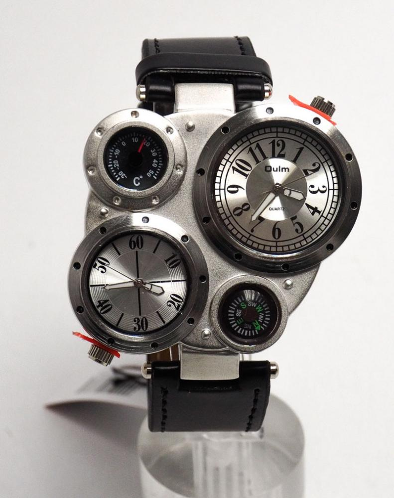 86f2b610279 Lote 490 - RELÓGIO OULM - Relógio de pulso de homem da marca Oulm ...