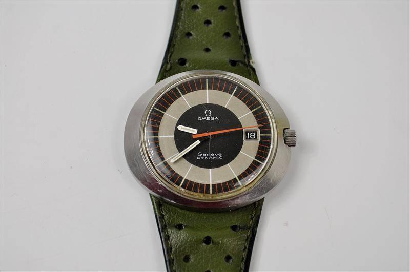 7233ce84b8a Lote 944 - Relógio Omega anos 70