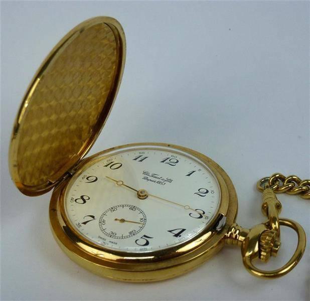 95d45d68008 Lote 546 - Relógio de bolso da marca Chs TISSOT   Fils
