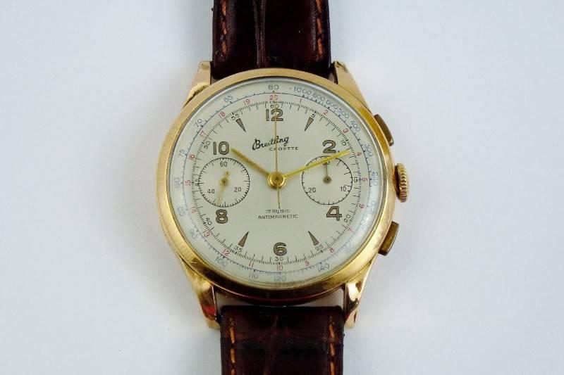 c2b6f792bd7 Lote 2169 - Relógio de ouro 18k da marca Breitling