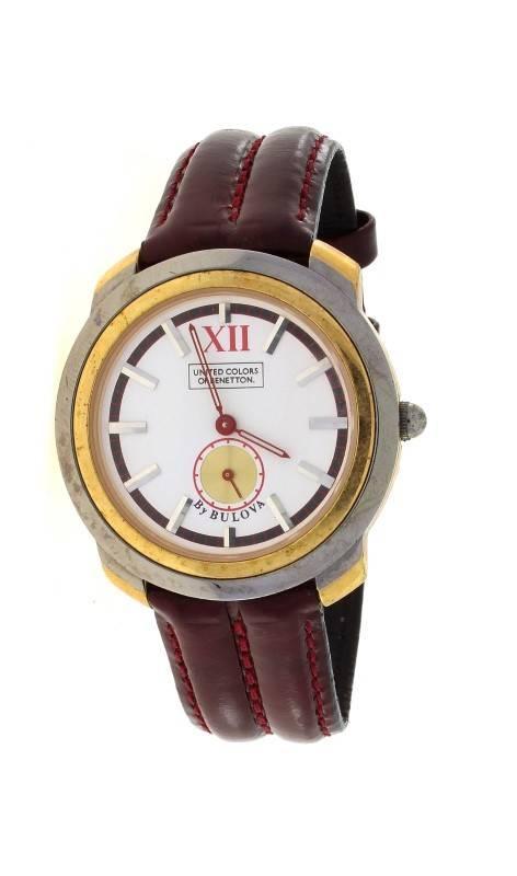 b4b516766df Lote 801 - Relógio da marca UNITED COLORS OF BENETTON - By Bulova ...