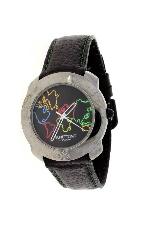 7d4d43014cd Lote 841 - Relógio da marca UNITED COLORS OF BENETTON - By Bulova ...