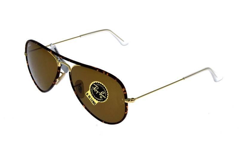 Lote 12 - Óculos de sol Ray-Ban com armação em metal simulando tartaruga.  Notas  Novos, 100% originais e autenticos. Com 2 anos de garantia. cab3deca7d