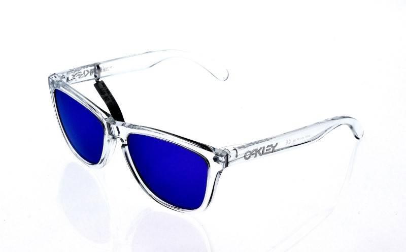 2b3370cb4 Lote 23 - Óculos de sol Oakley - Frogskins, armação em massa transparente.  Notas: Novos, 100% originais e autenticos. Com 2 anos de garantia.