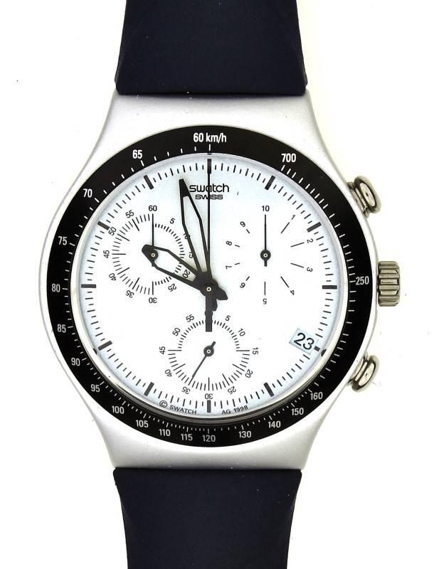 fd198b487b2 Lote 7 - Relógio de pulso da marca SWATCH