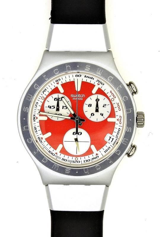 fc4eff275d8 Lote 8 - Relógio de pulso da marca SWATCH