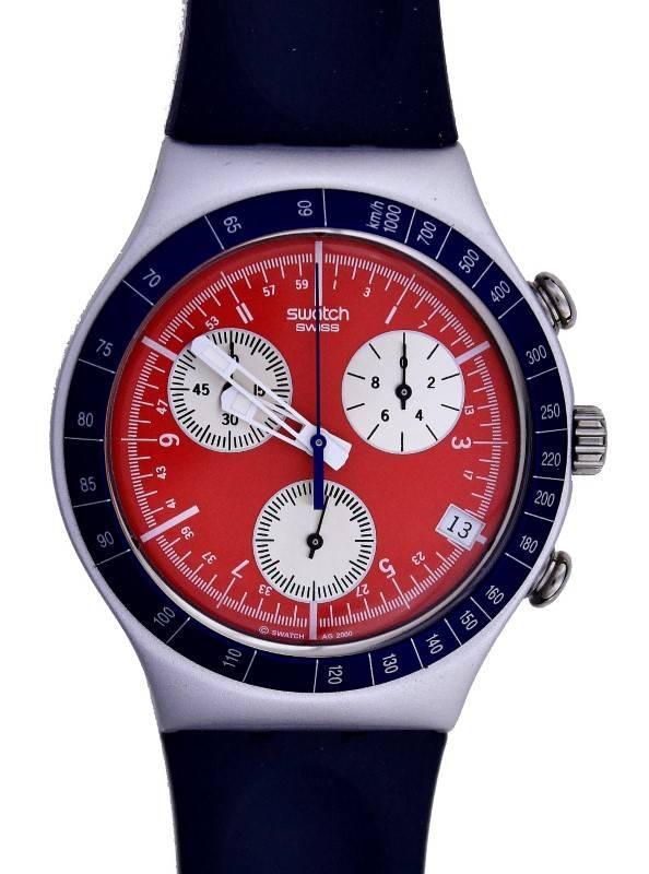 c5a86a86732 Lote 13 - Relógio de pulso da marca SWATCH